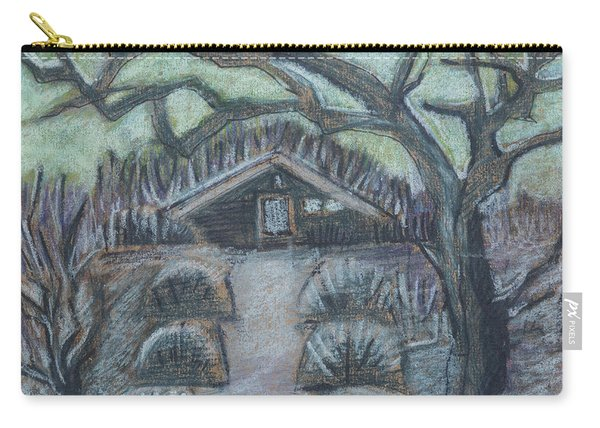 Twilight In Garden, Illustration Carry-all Pouch