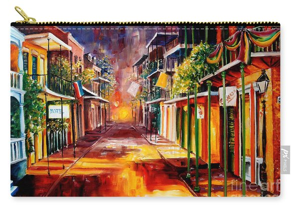 Twilight In New Orleans Carry-all Pouch