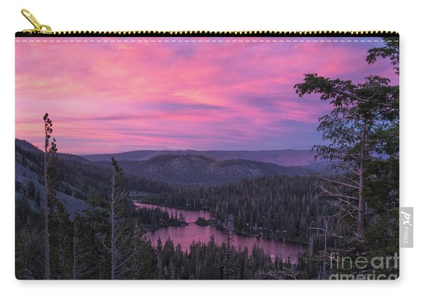 Twilight Mammoth Lakes  Carry-all Pouch