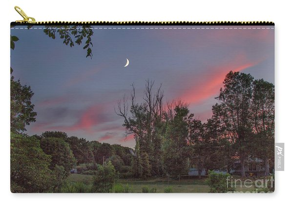 Twilight Moonrise Carry-all Pouch