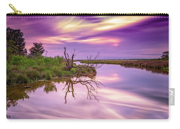 Twilight On Assateague Island Carry-all Pouch