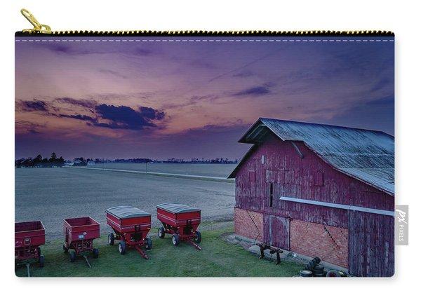 Twilight On The Farm Carry-all Pouch