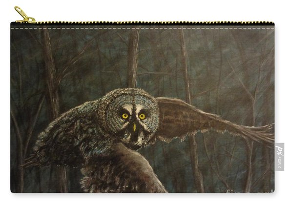 Twilight Owl Of Ga' Hooole Carry-all Pouch