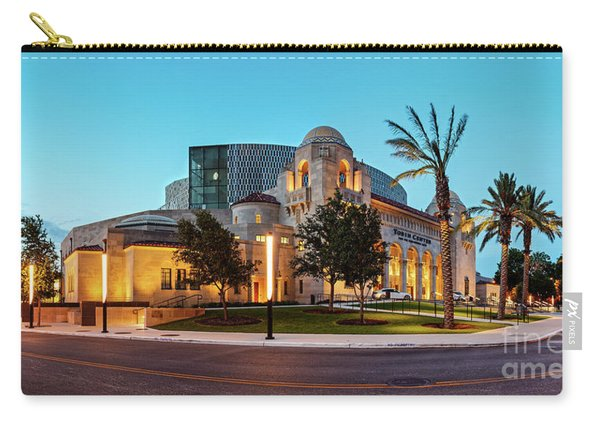 Twilight Panorama Of Tobin Center For The Performing Arts - Downtown San Antonio Texas Carry-all Pouch