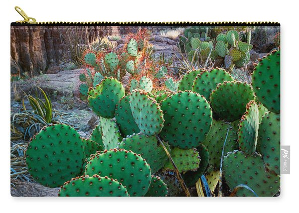 Twilight Prickly Pear Carry-all Pouch