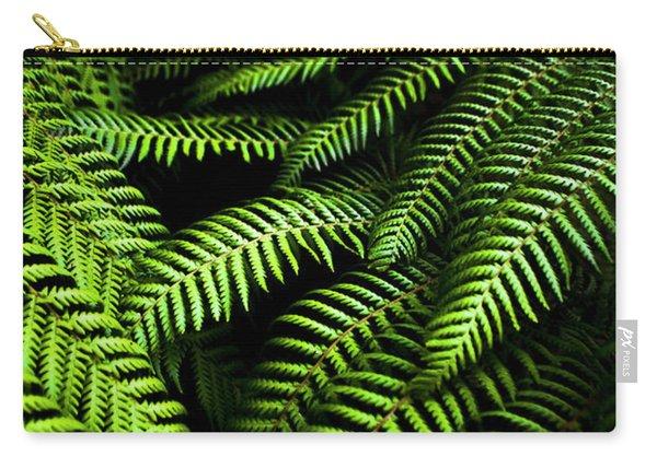 Twilight Rainforest Fern  Carry-all Pouch