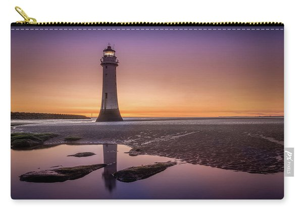 Twilight Reflection, New Brighton Lighthouse Carry-all Pouch