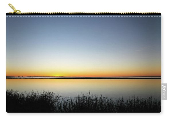 Twilight Stillness Down By The Beach Lagoon Carry-all Pouch