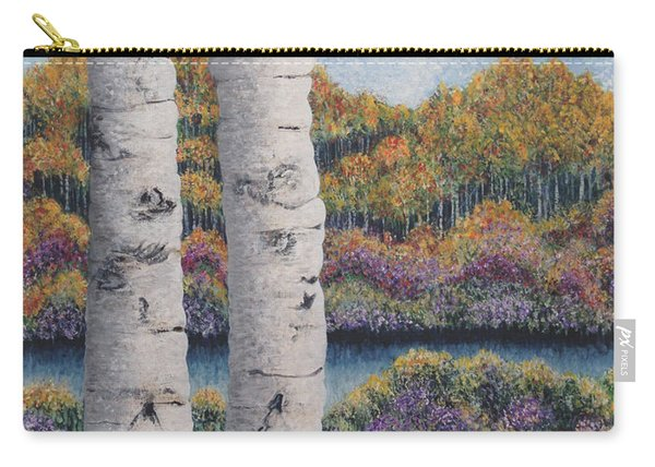 Twin Aspens Carry-all Pouch