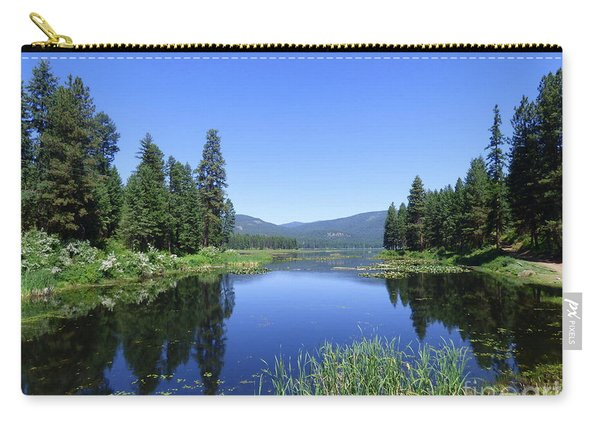 Twin Lakes Reflection Carry-all Pouch
