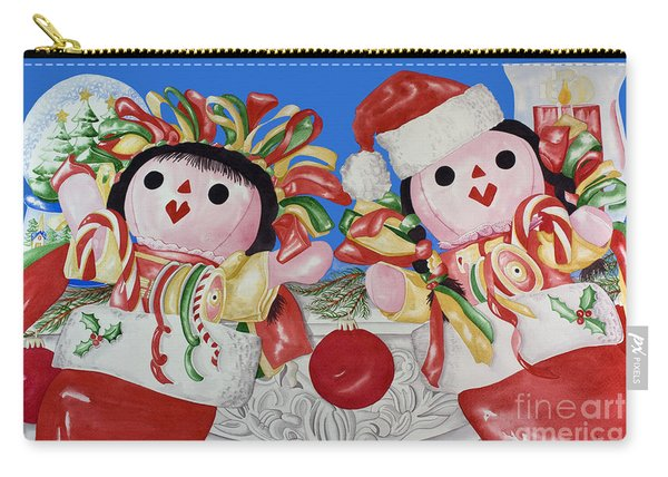 Twin Stockings Carry-all Pouch