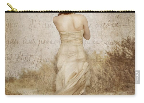 Twirling Painted Lady Carry-all Pouch