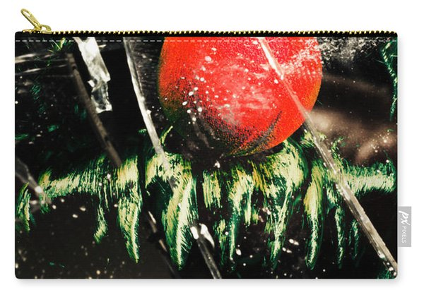 Twisted Evil Clown Portrait Carry-all Pouch