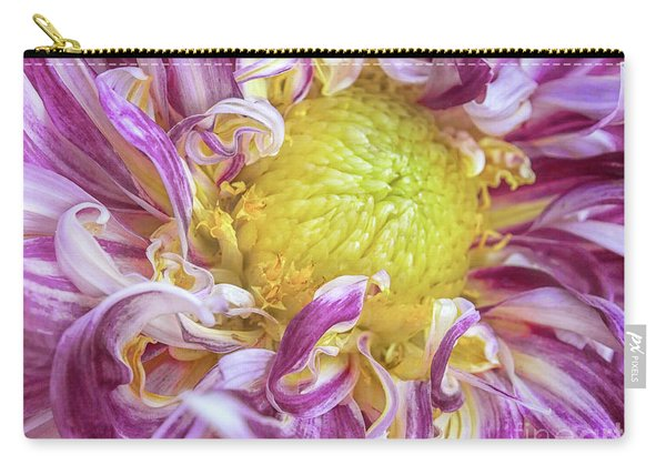 Twisted Petals Carry-all Pouch