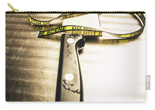 Twists And Turns Of A Serial Killer Carry-all Pouch