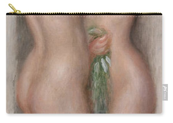 Two Bathers Carry-all Pouch