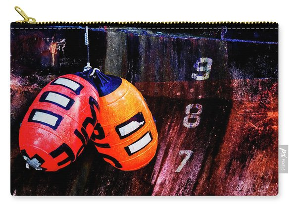 Two Buoys Left Of Depth Carry-all Pouch