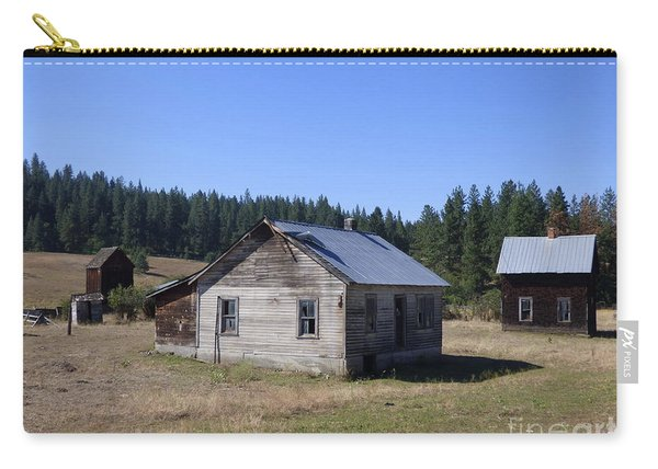 Two Cabins At Fruitland Carry-all Pouch
