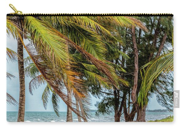 Two Chairs In Belize Carry-all Pouch