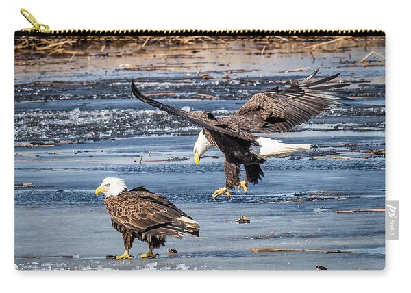 Two Eagles Carry-all Pouch