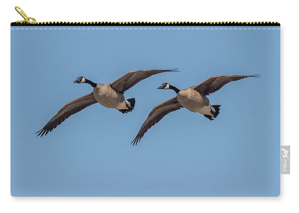 Two Geese Carry-all Pouch