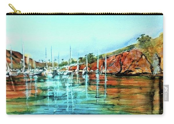 Two Harbors Catalina Morning Impressions Carry-all Pouch