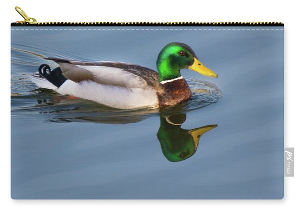 Two Headed Duck Carry-all Pouch