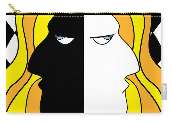 Two Heads Two Souls Carry-all Pouch