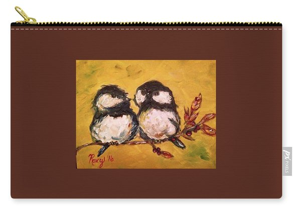 Two Hot Chicks Carry-all Pouch