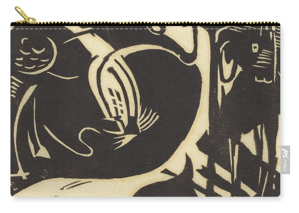 Two Mythical Animals Carry-all Pouch