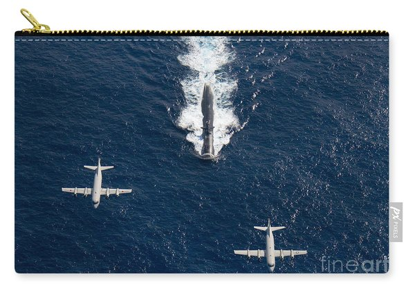 Two P-3 Orion Maritime Surveillance Carry-all Pouch