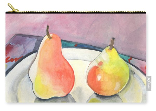 Two Pears Carry-all Pouch