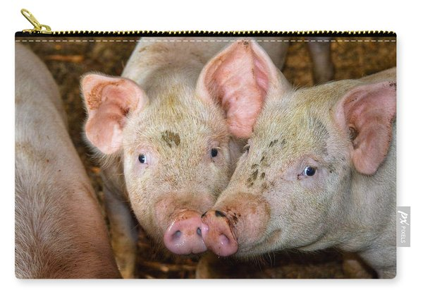 Two Pigs Carry-all Pouch