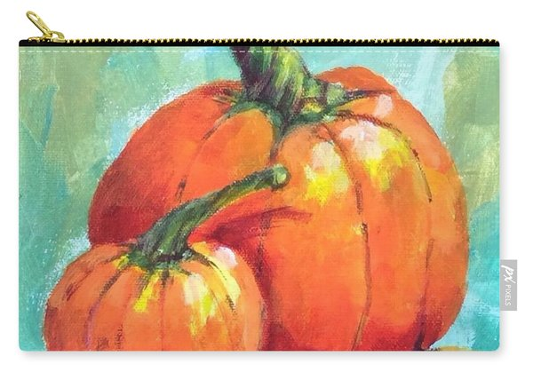 Two Pumpkins  Carry-all Pouch