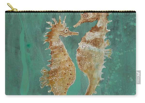 Two Seahorse Lovers Carry-all Pouch