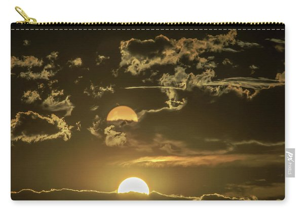 Two Suns Setting Carry-all Pouch