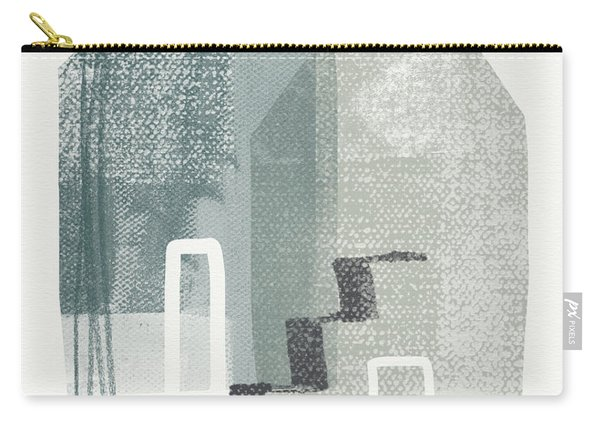 Two Tall Houses- Art By Linda Woods Carry-all Pouch