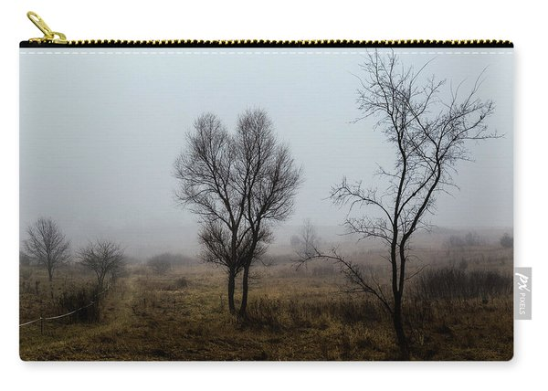 Two Trees In The Fog Carry-all Pouch