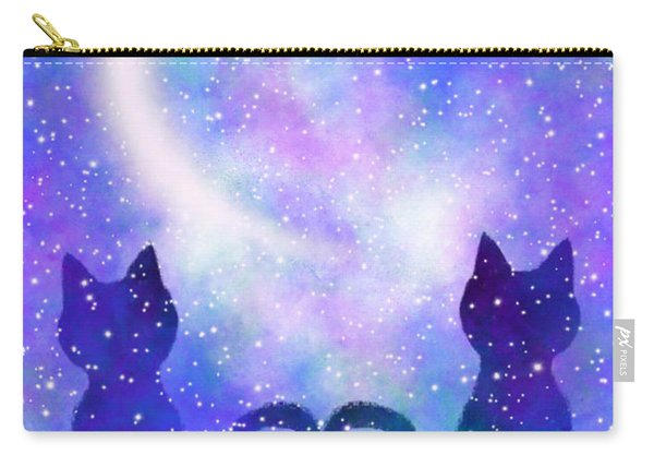 Two Wishing On A Star Carry-all Pouch