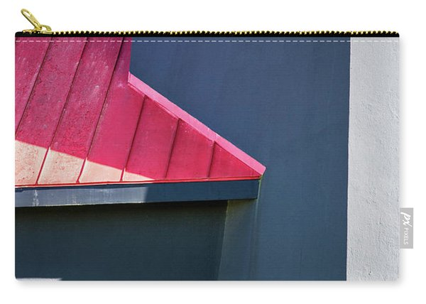 Tybee Building Abstract Carry-all Pouch
