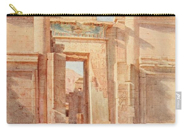 Tyndale, Walter 1855-1943 - Below The Cataracts 1907, The Ptolemaic Pylon, Medinet Habu Carry-all Pouch
