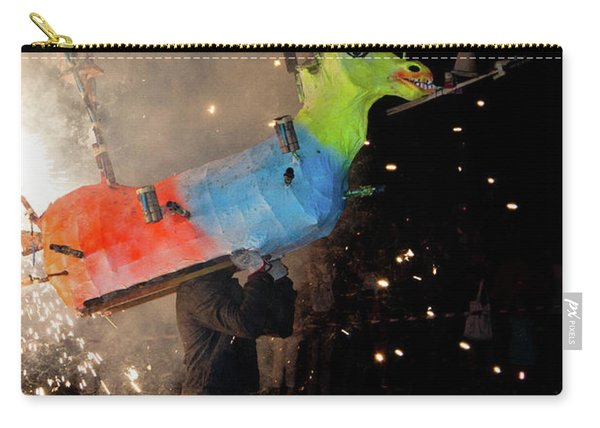 Typical Festival Plaza South Italy Carry-all Pouch