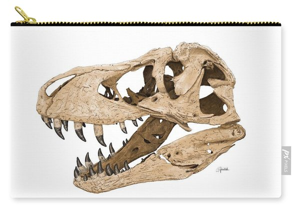 Tyrannosaurus Skull Carry-all Pouch