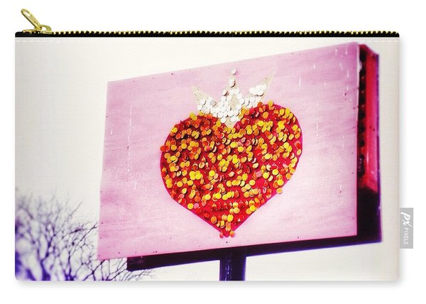 Tyson's Tacos Heart Carry-all Pouch