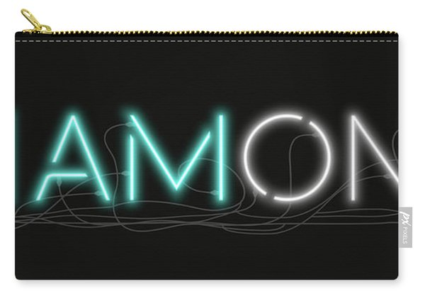 U Are Diamond - Neon Sign 1 Carry-all Pouch