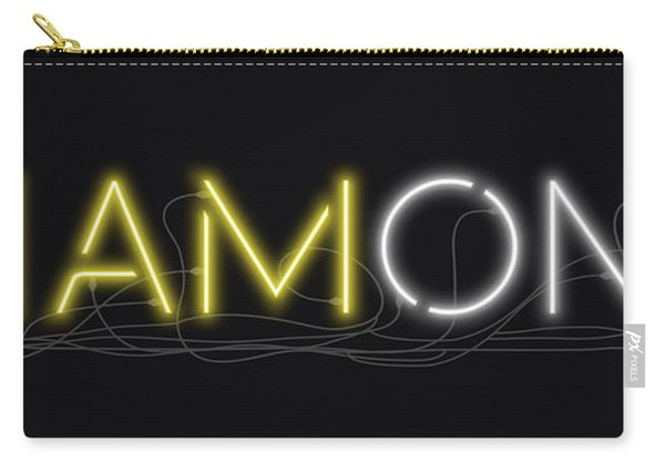 U Are Diamond - Neon Sign 2 Carry-all Pouch