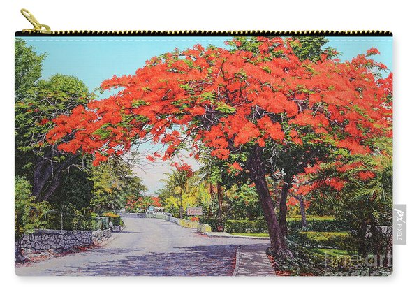 Ubs Poinciana Carry-all Pouch