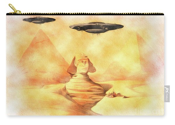 Ufos Over Sphinx Carry-all Pouch