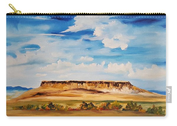 Ulm Montana First People's Buffalo Jump   93 Carry-all Pouch