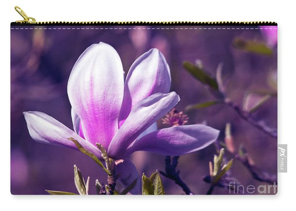 Ultra Violet Magnolia  Carry-all Pouch